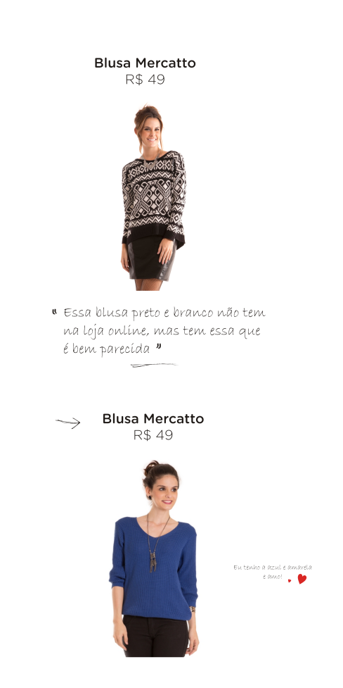 leidi turatti blusa mercatto compra online