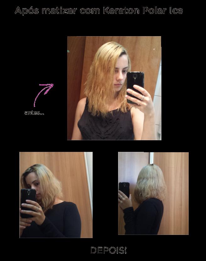 blond me scharzkopf descoloração dos cabelos em casa antes e depois keraton colors polar ice leidi turatti